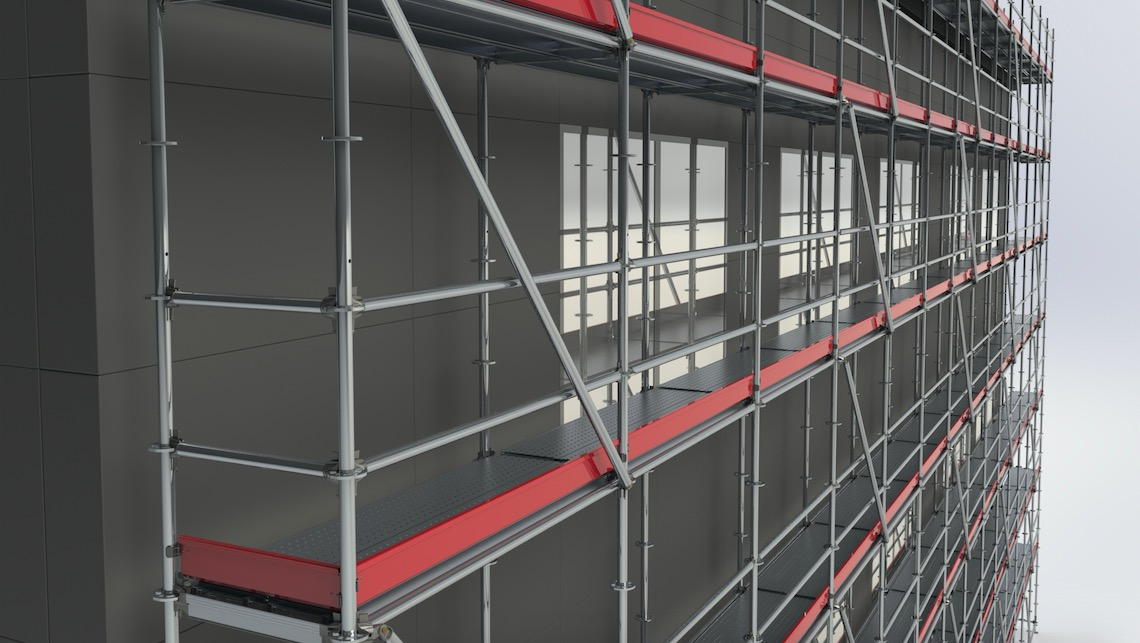 Aluminum Scaffolding Systems : Instant hd heavy duty aluminium modular scaffolding system