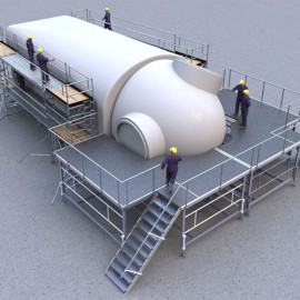 Wind Turbine Access - Nacelle Inspection Platforms